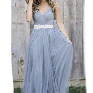 Revelry Penelope Tulle Bridesmaid Dress